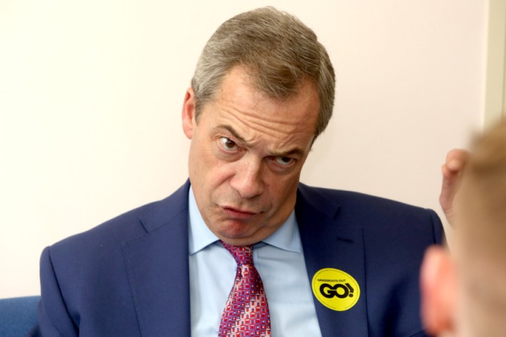 MEP Nigel Farage launches Grassroots Out in January.
